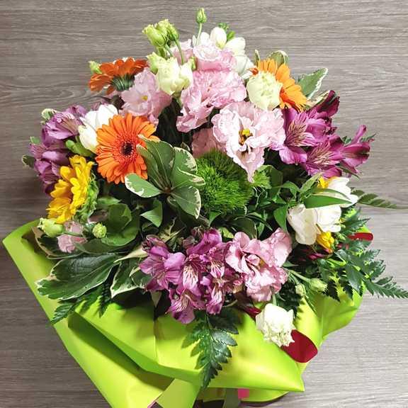 Bouquet Di Fiori Misti Colorato Spedizione Fiori In Italia